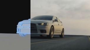 Mitsubishi Motors - animacja 3D