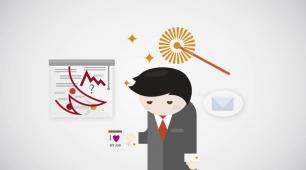 Bizlynq - reklamowa animacja 2D